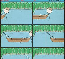 "Incredibly Boring Comics!! #8 - ""Fishing"" by FinlayMcNevin"