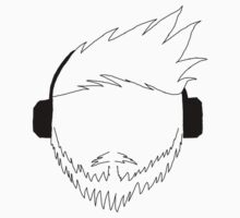 SeaL's Beard, Hair and Headphones Logo by LusciousSeaL