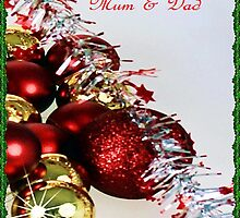 Christmas sparkle for Mum and Dad by ©Josephine Caruana