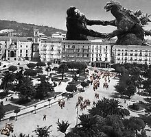 King Kong vs Godzilla in Italy by wiser0x