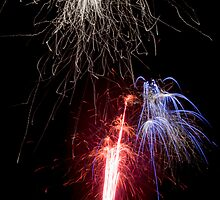 10 Fireworks! Blank Greeting Cards by John Hunt