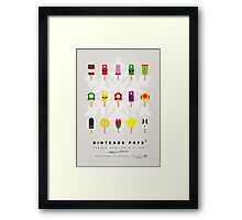 My MARIO ICE POP - UNIVERS Framed Print