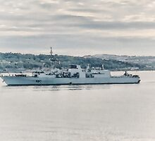 HMCS Halifax by Shawna Mac