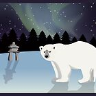 Polar bear Poster by jeice27