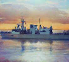 HCMS Winnipeg by Shawna Mac