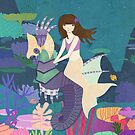 Tara and her Seahorse by CarlyWatts