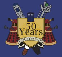 50 Anniversary of the Doctor by andirobinson