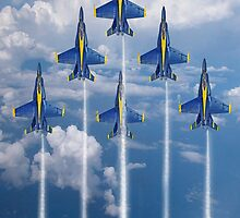 Blue Angels by J Biggadike