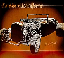 Lowboy Roadster Drawing Ur Wall's Desire by ChasSinklier