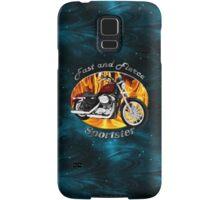 Harley Davidson Sportster Fast and Fierce Samsung Galaxy Case/Skin