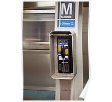 Monroe Subway Station, Chicago Poster