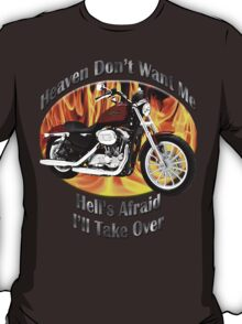 Harley Davidson Heaven Don't Want Me T-Shirt