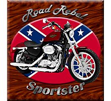 Harley Davidson Sportster Road Rebel Photographic Print