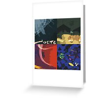 Cocteau Twins Pop Art Greeting Card