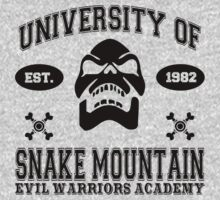 University of Snake Mountain (black) by kingUgo