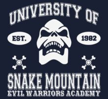 University of Snake Mountain (white) by kingUgo