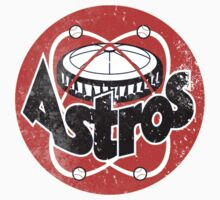 Astros Vintage Tribute Baseball shirt. by RussellK99