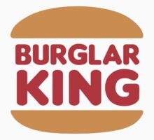 Burger King Burglar King T-shirt by logo-tshirt