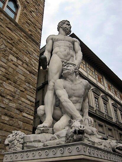 Hercules and Cacus, Florence, Italy by buttonpresser