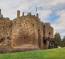 Panorama: Dirleton Castle, Scotland by Miles Gray