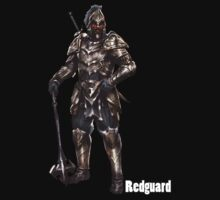 Elder Scrolls Online - RedGuard (Shirt/Sticker) by FOEMerch