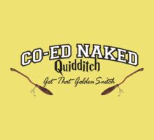 Naked Quidditch - Hufflepuff Yellow by waltervinci