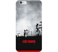 State Trooper Nebraska iPhone Case/Skin