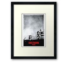 State Trooper Nebraska Framed Print