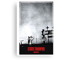 State Trooper Nebraska Canvas Print