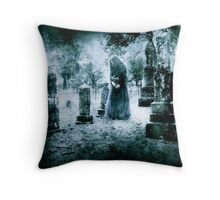 Tombstone Offering Throw Pillow