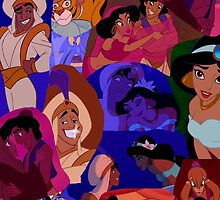 Aladdin collage by emilyg23