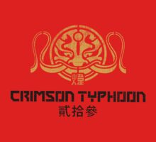 Crimson Typhoon (gold and black) by TheBatchild