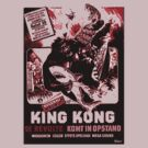 King Kong (Red print) by Jarrod Knight