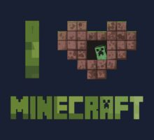 I Love Minecraft by ajf89