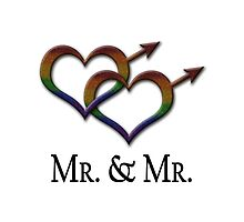 Mr. and Mr. - Gay Pride - Marriage Equality by LiveLoudGraphic