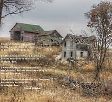 Empty Old Houses by wiscbackroadz