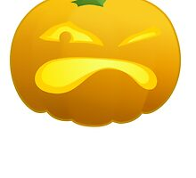 Annoyed Jackolantern by kwg2200