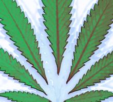 Hemp Lumen #8 Leaf Marijuana/Cannabis/Weed Sticker