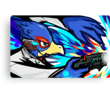 Falco | Blaster Shot Canvas Print