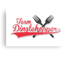 Team Dinglehopper Metal Print