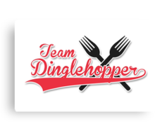 Team Dinglehopper Canvas Print