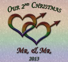 Second Christmas - Mr. and Mr. - Gay Pride by LiveLoudGraphic