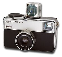 Kodak Instamatic 233 with Magicube by Kawka