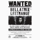 Bellatrix Lestrange WANTED T shirt by ermisenda