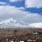 Loch Ossian Train Station by beavo