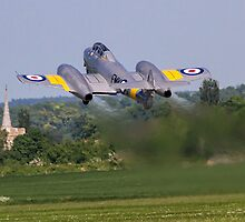 Gloster Meteor T.7 WA591/FMK-Q G-BWMF by Colin Smedley