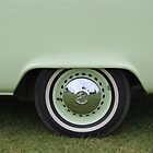 Wheel view - camper by perggals