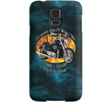 Triumph Thunderbird Heaven Don't Want Me Samsung Galaxy Case/Skin