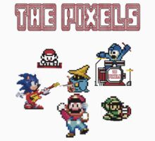 The Pixels - Old School Band by ramox90
