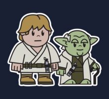 Mitesized Luke & Yoda by Nemons